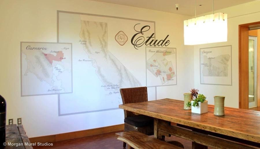 Etude Map Wall