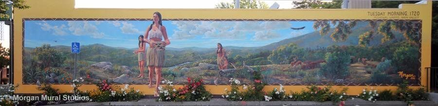 Click to view this mural on my website