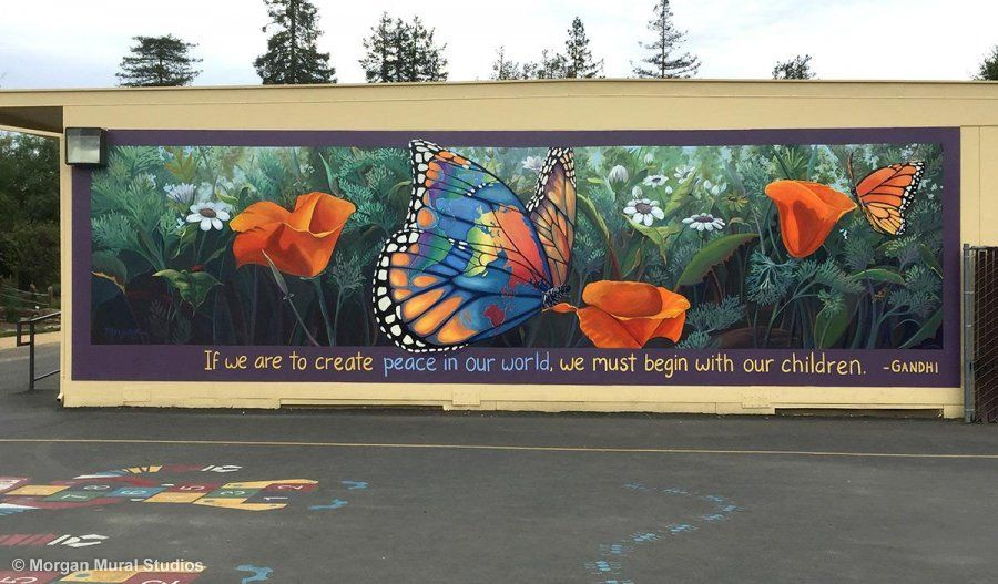 Peace Takes Flight at Oak Elementary