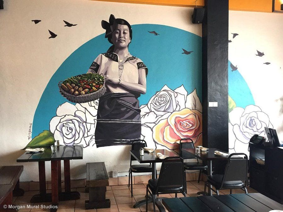The Girl of La Viga, La Viga Restaurant, Redwood City, 2017